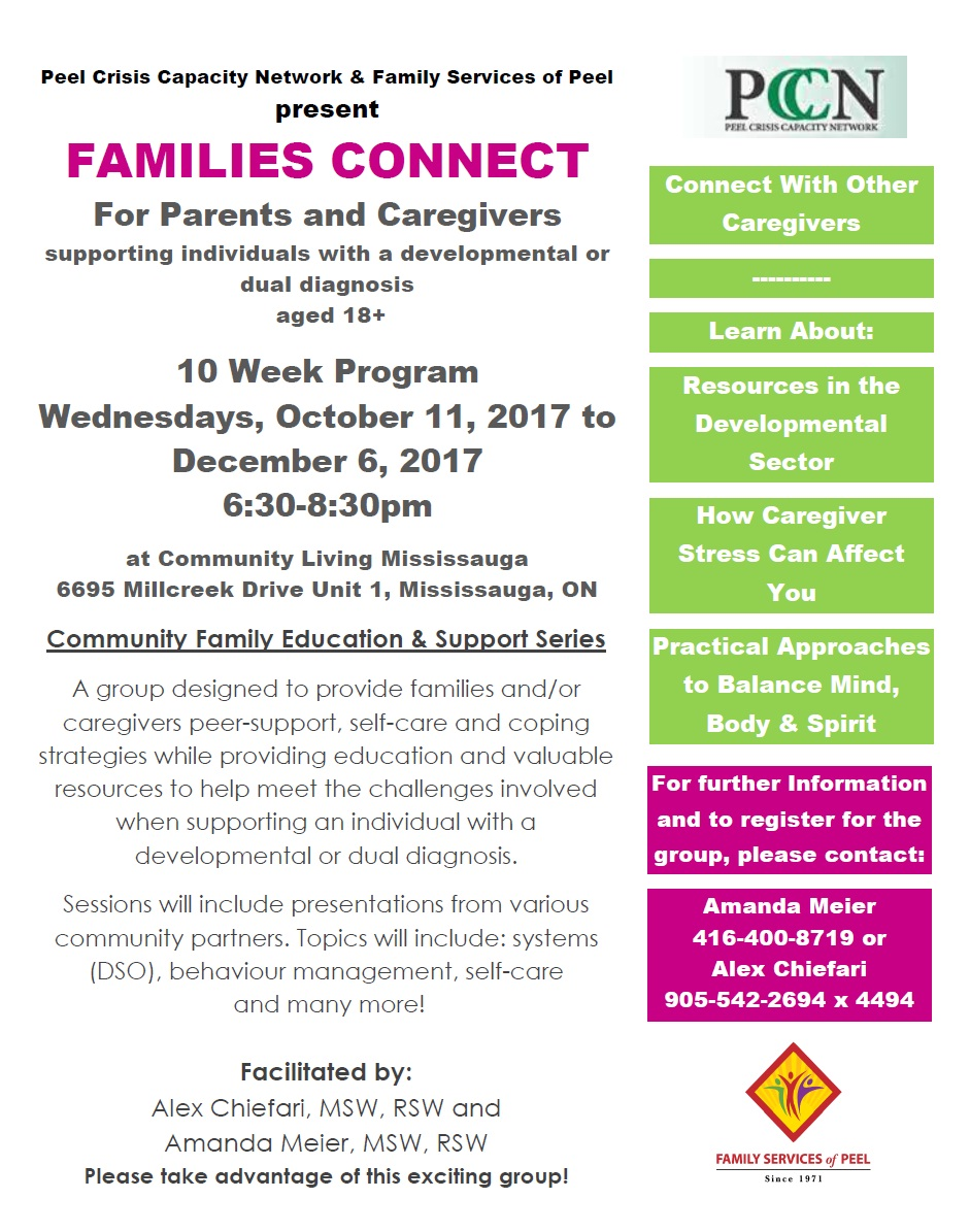 Family connect adult program