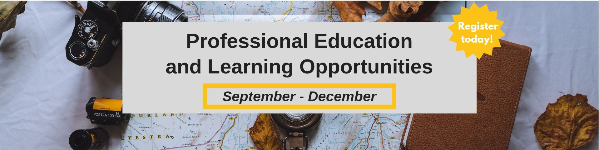 Professional Education Opportunities
