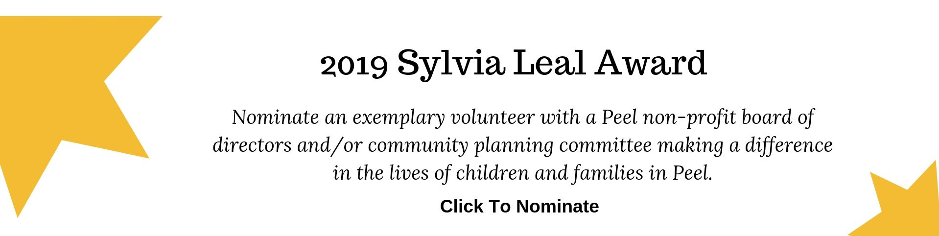 Sylvia Leal Award for Exemplary Leadership
