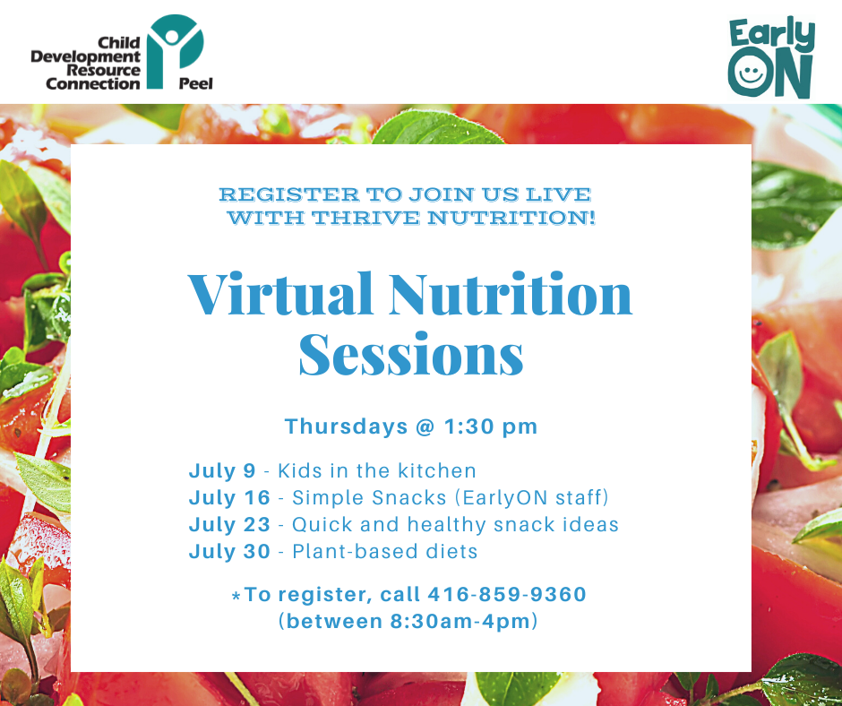 Virtual Nutrition Sessions